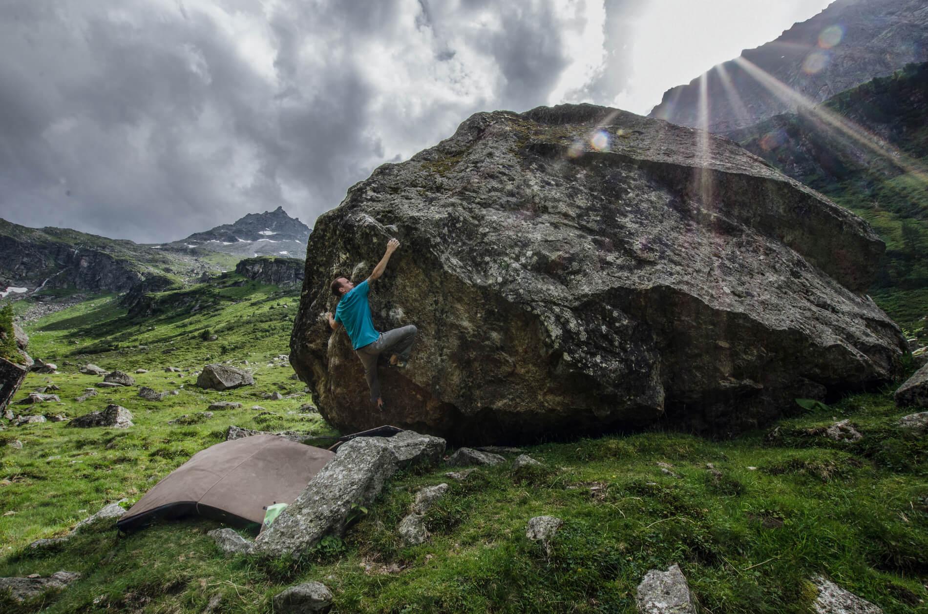 Landschaft Kletter Felsen